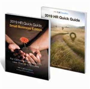 Picture of HR Quick Guide for California Employers