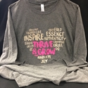 Picture of Tshirt - Thrive & Grow Long Sleeve WINC