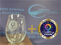 Picture of Creating Vision COMBO – Challenge Coin + Wine Goblet