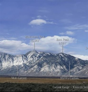 "Picture of 7.5""x36""Panoramic Sierra Image"