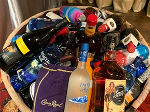 Picture of Barrel of Booze Raffle Ticket