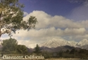Picture of Postcard Claremont Snowy Mountains