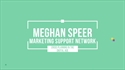 Picture of MSM Video Session 2: Megan Speer