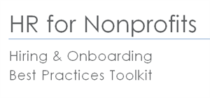 Picture of HR for Nonprofits: Hiring & Onboarding Toolkit