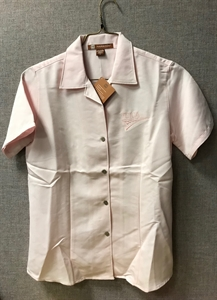 Picture of Ladies Pink Short Sleeve Shirt