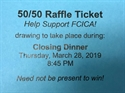 Picture for category 50/50 Raffle Tickets