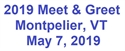 Picture of 2019 NEHPBA Meet & Greet Sponsorship - 05/07/19 - Montpelier, VT - SOLD OUT!