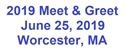 Picture of 2019 NEHPBA Meet & Greet Sponsorship - 06/25/19 - Worcester, MA - SOLD OUT!