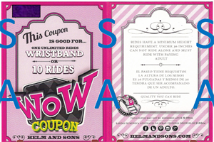 Picture of Discount Ride Coupons