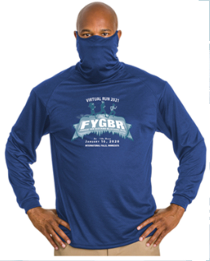 The official 2021 FYGBR shirt is perfect for all winter sports!
