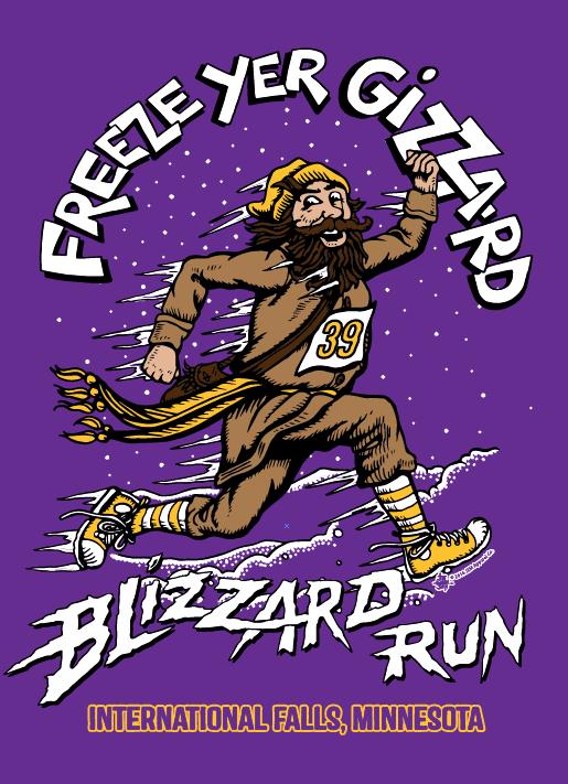 Freeze Yer Gizzard Blizzard Run
