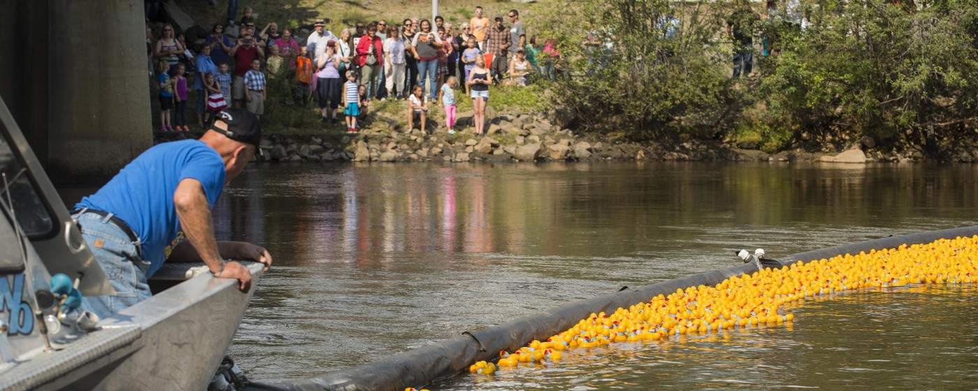 Rubber Duckie Race - Greater Fairbanks Chamber of Commerce, AK