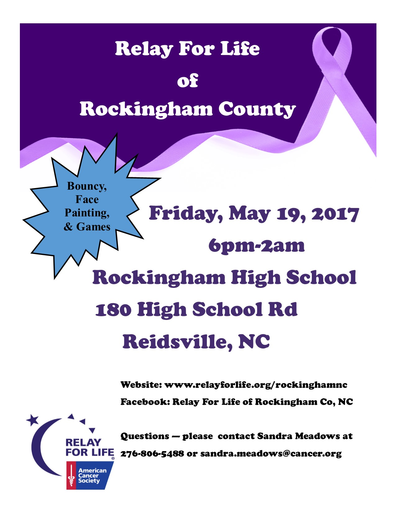 relay for life of rockingham county