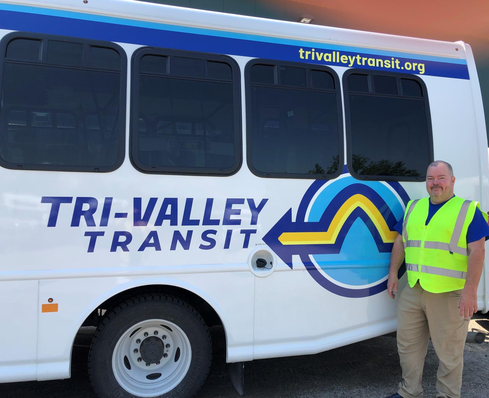 Tri-Valley Transit bus service transportation