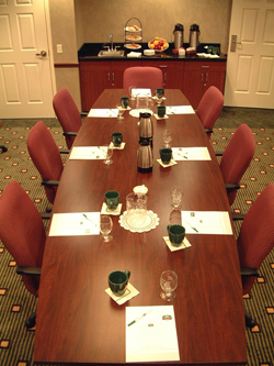 Courtyard by Marriott conference room