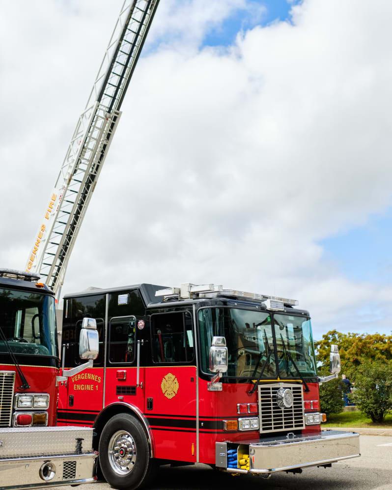 Fire Truck at Vergennes Fire Department