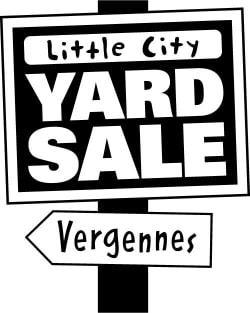 Vergennes Little City Yard Sale Town wide Yard Sale