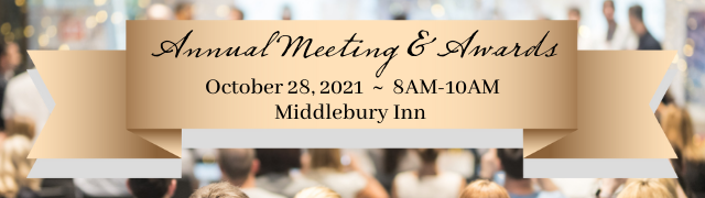 Addison County Chamber of Commerce Annual Meeting & Awards at Middlebury Inn October 28, 2021