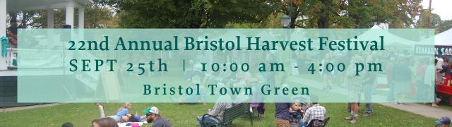 Bristol Harvest Festival Saturday, September 25, 2021