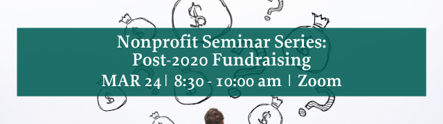 Addison County Chamber Webinar Nonprofit Seminar Series Post-2020 Fundraising March 24, 2021