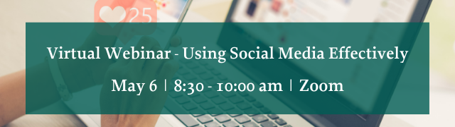 Addison County Chamber Virtual Webinar Using Social Media Effectively May 6, 2021