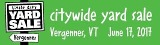 Little City Yard Sale Vergennes