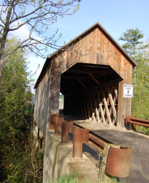 Halpin Covered Bridge, Middlebury, Vermont