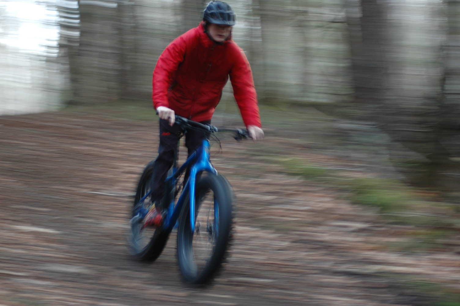 Fat biking at Rikert Nordic Center