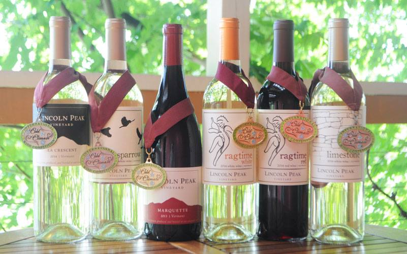 Lincoln Peak Vineyard's award winning wines