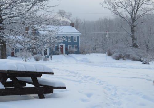 Blueberry Hill Inn Goshen winter