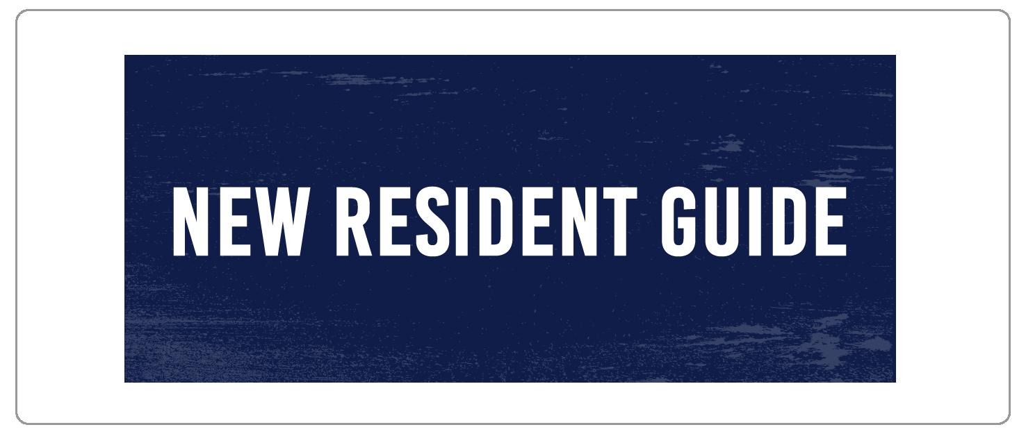 New Resident Guide