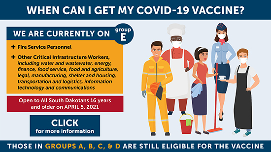 When can I get my COVID-19 Vaccine?