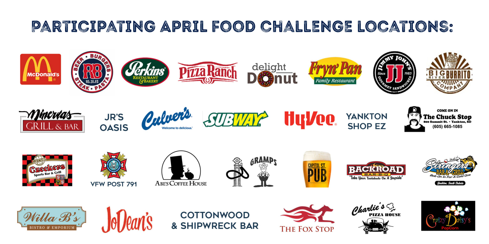 April Participating Eateries