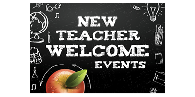 New Teacher Welcome Events