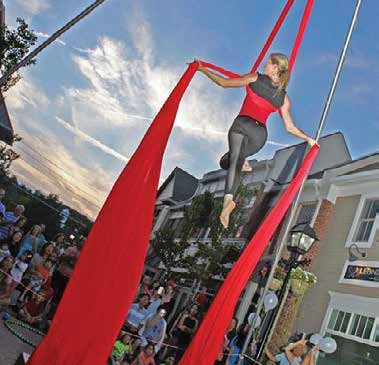 Westchester Circus Arts at Third Thursday in Armonk Square