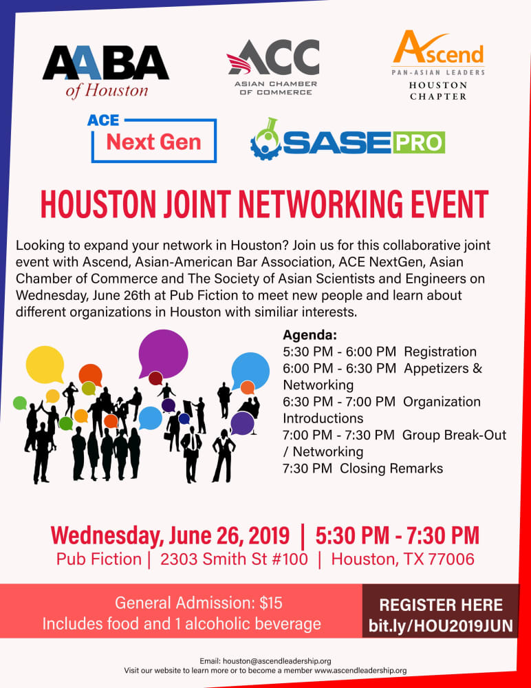 Houston Joint Networking Event
