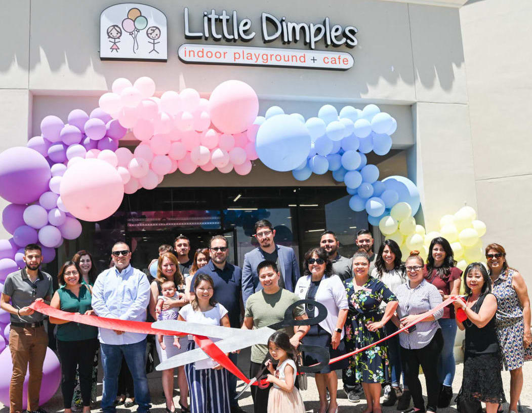 Little Dimples Indoor Playground Ribbon Cutting