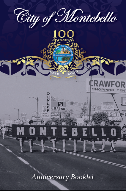 City of Montebello Centennial Anniversary Booklet