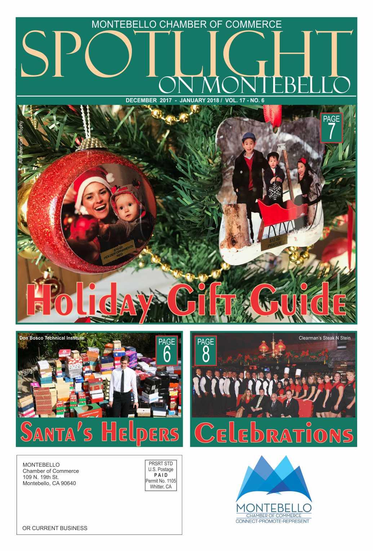 Spotlight on Montebello - Dec 2017/Jan 2018 issue
