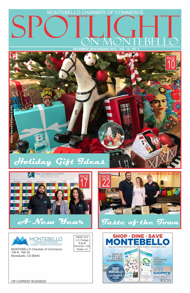 December 2018/January 2019 Spotlight on Montebello