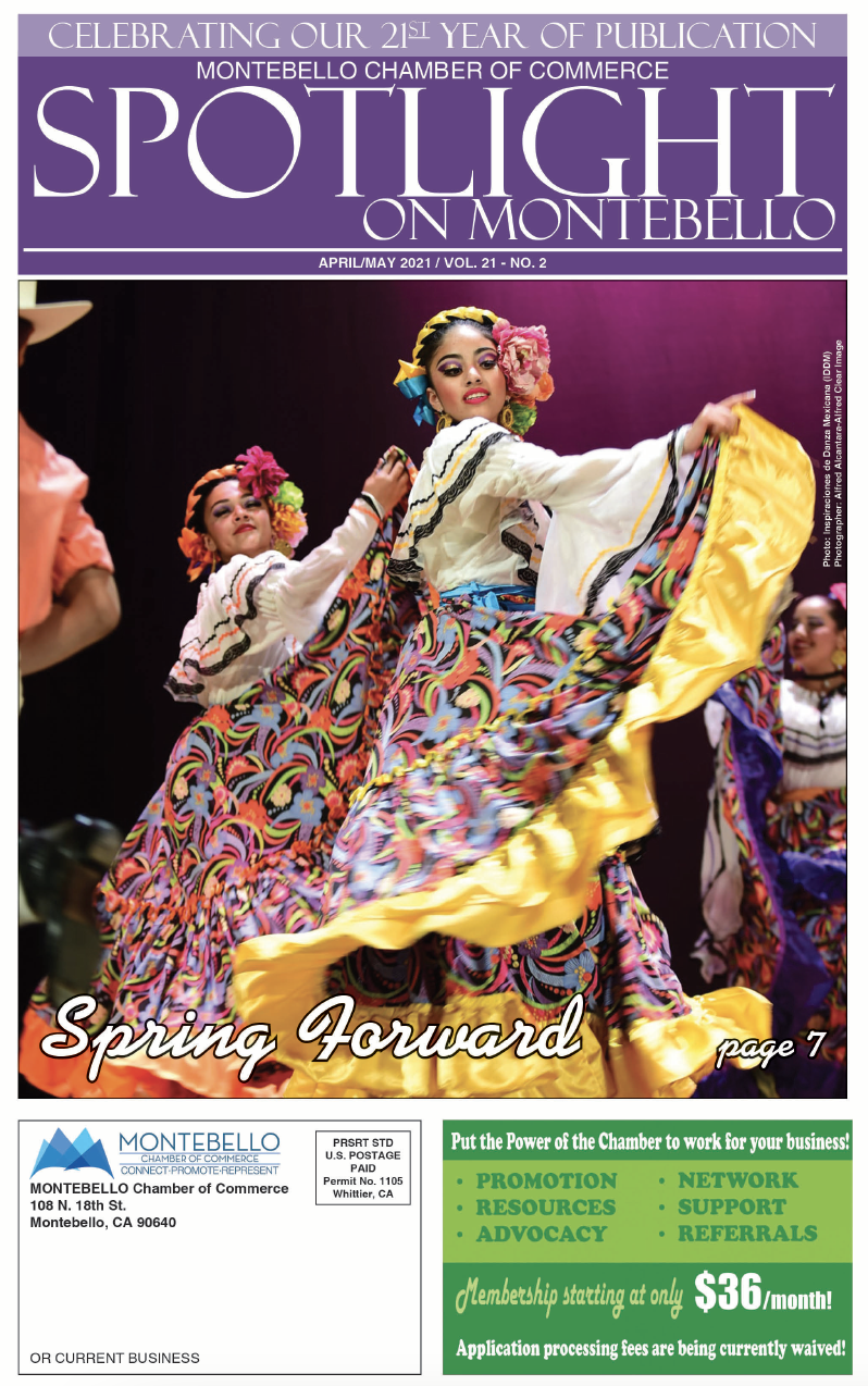 April May Spotlight on Montebello front cover