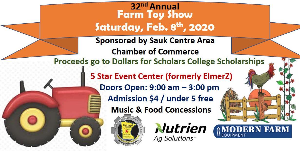 Farm Toy Show - Saturday, Feb. 8th