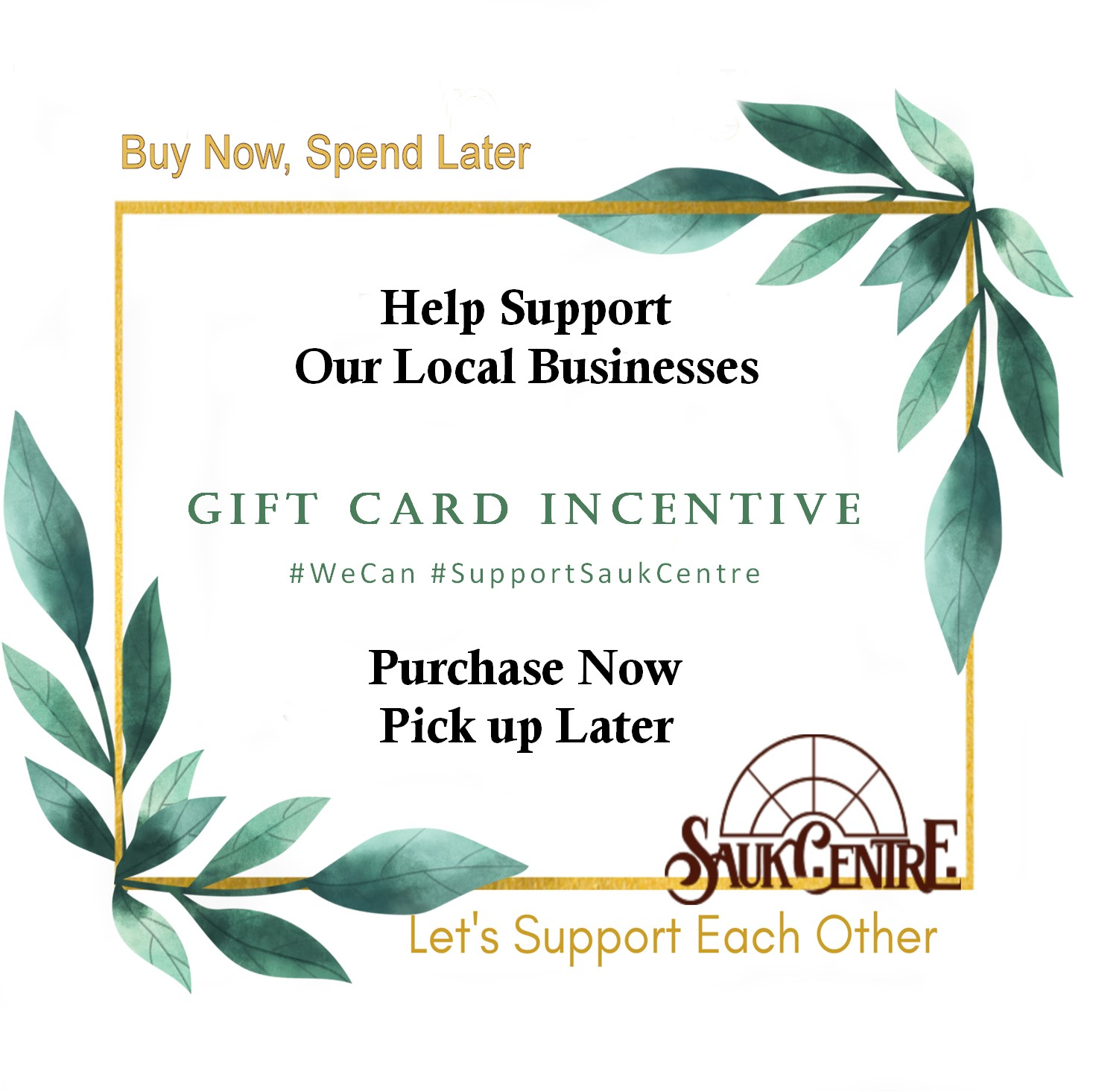 Gift Card Incentive