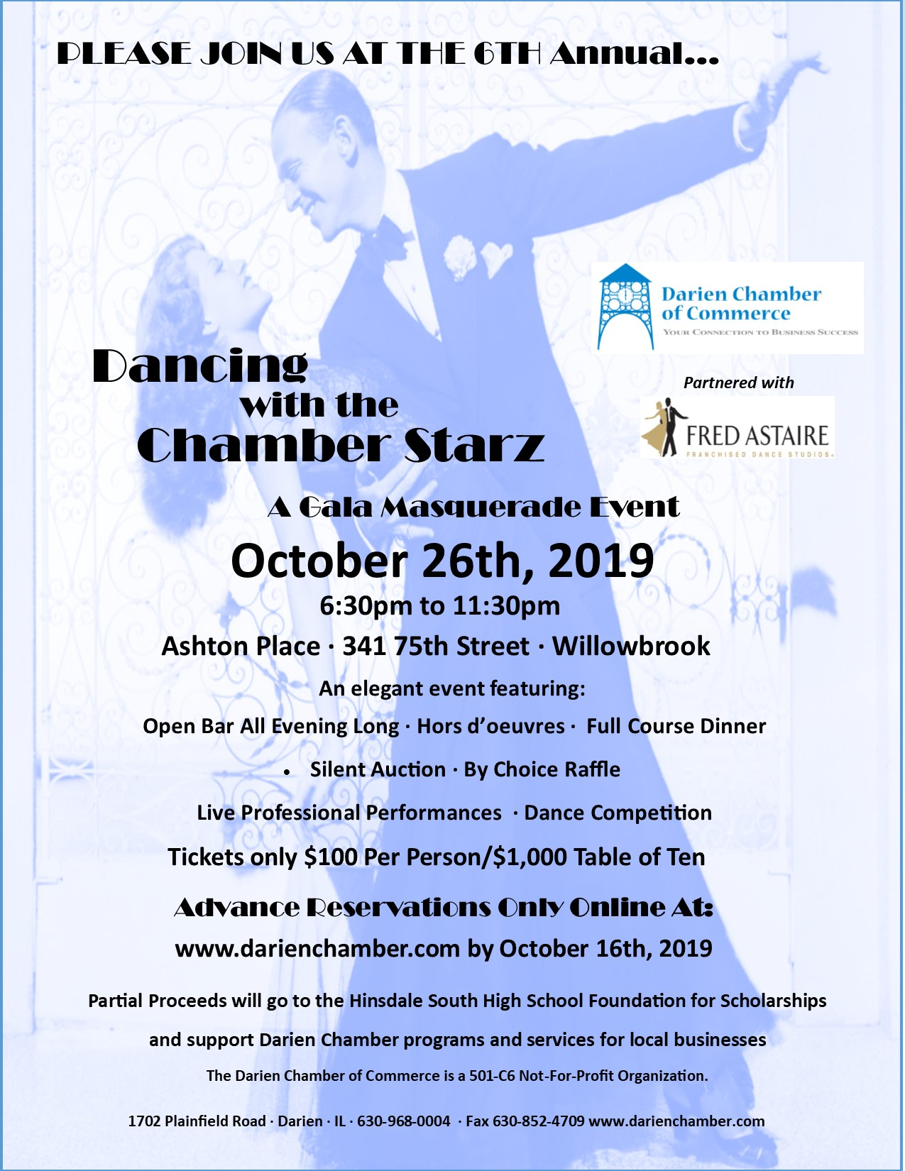 Dancing with Chamber Starz