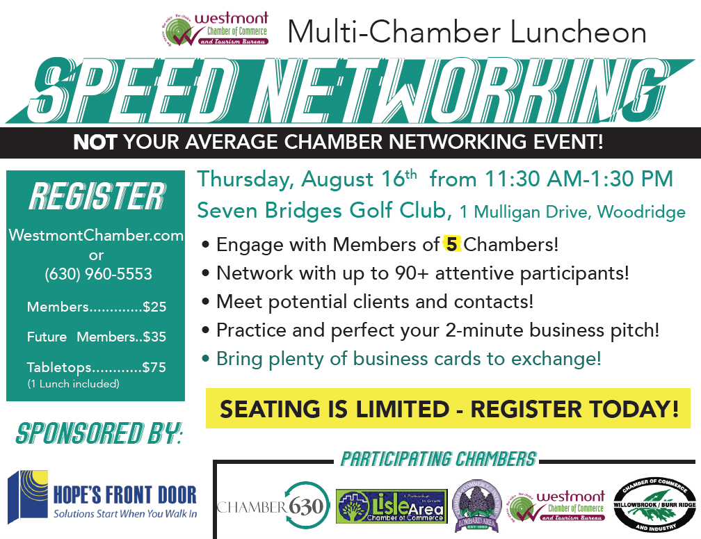 Multichamber luncheon speed networking aug 16 2018 reheart Image collections