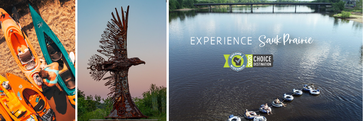 Kayake, Bike, Tube - Experience Sauk Prairie