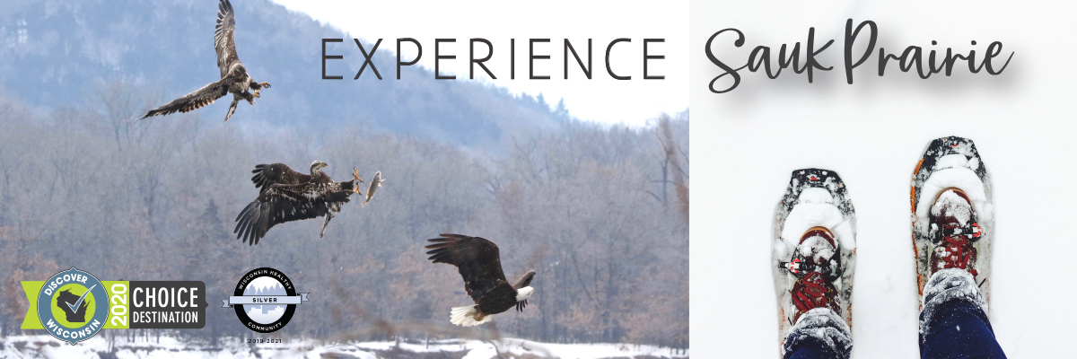 Snowshoeing Eagles - Experience Sauk Prairie