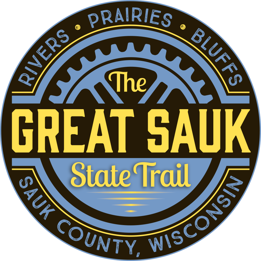 Great Sauk State Trail - Sauk Prairie Area Chamber of Commerce, WI on military ridge wisconsin map, wild goose state trail map, perrot state park map, glacial drumlin state trail map, newton blackmour state trail map, high cliff state park map, rain forest washington state map, badger state trail map, tuscobia state trail map,