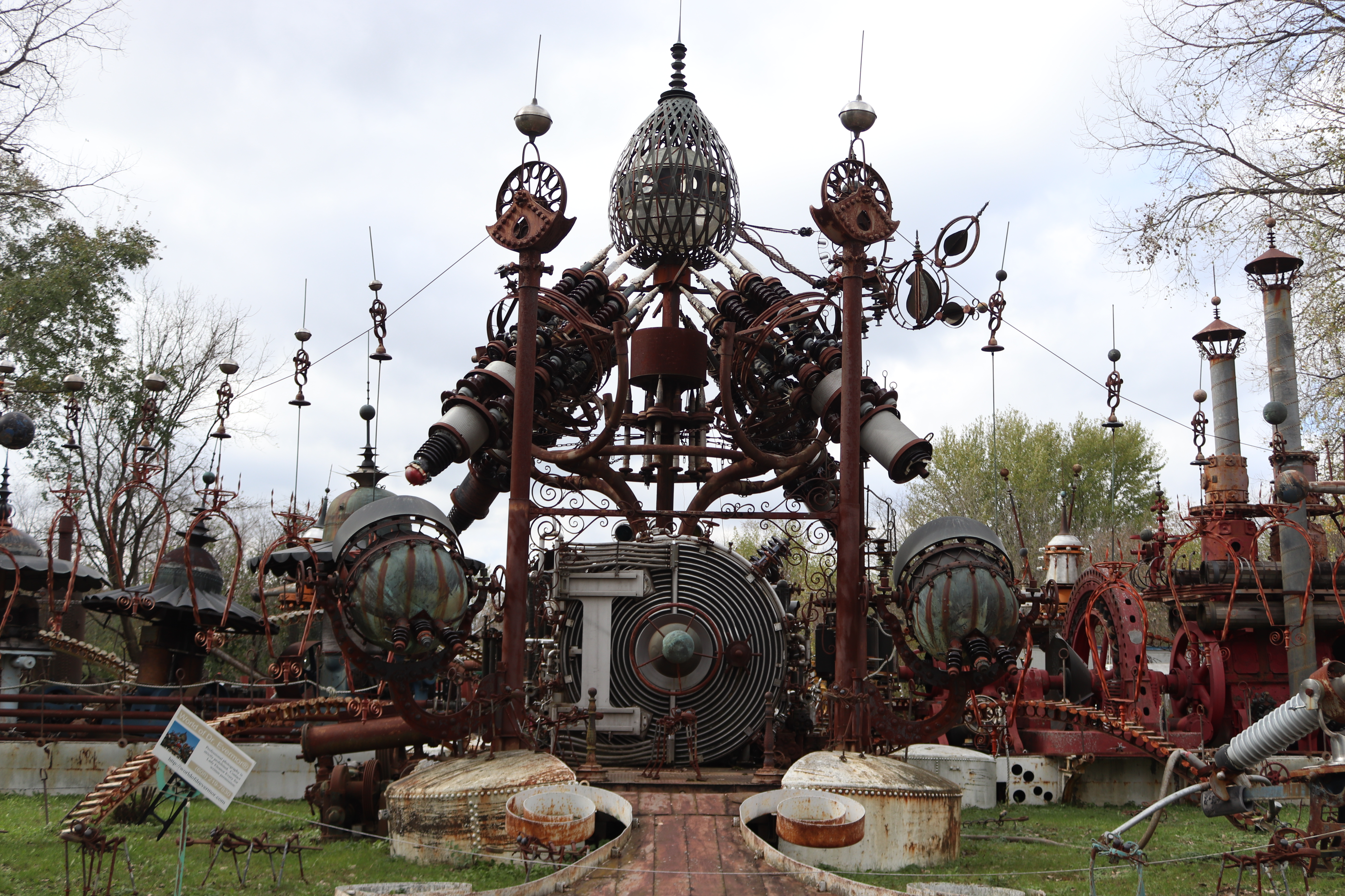 Dr. Evermor's Forevertron Sculpture Park