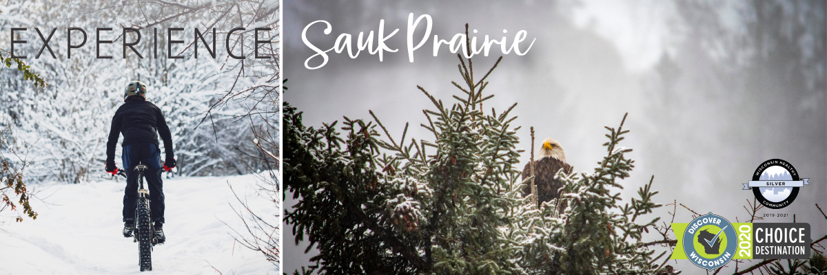Biking Eagles - Experience Sauk Prairie